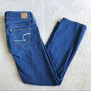 American Eagle Studded Artist Jeans